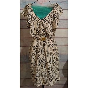 Belted dress size 10